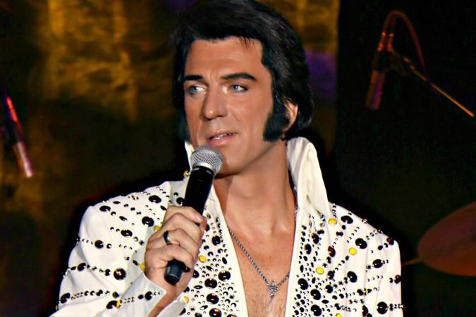 Elvis Presley Imitator Oliver Steinhoff